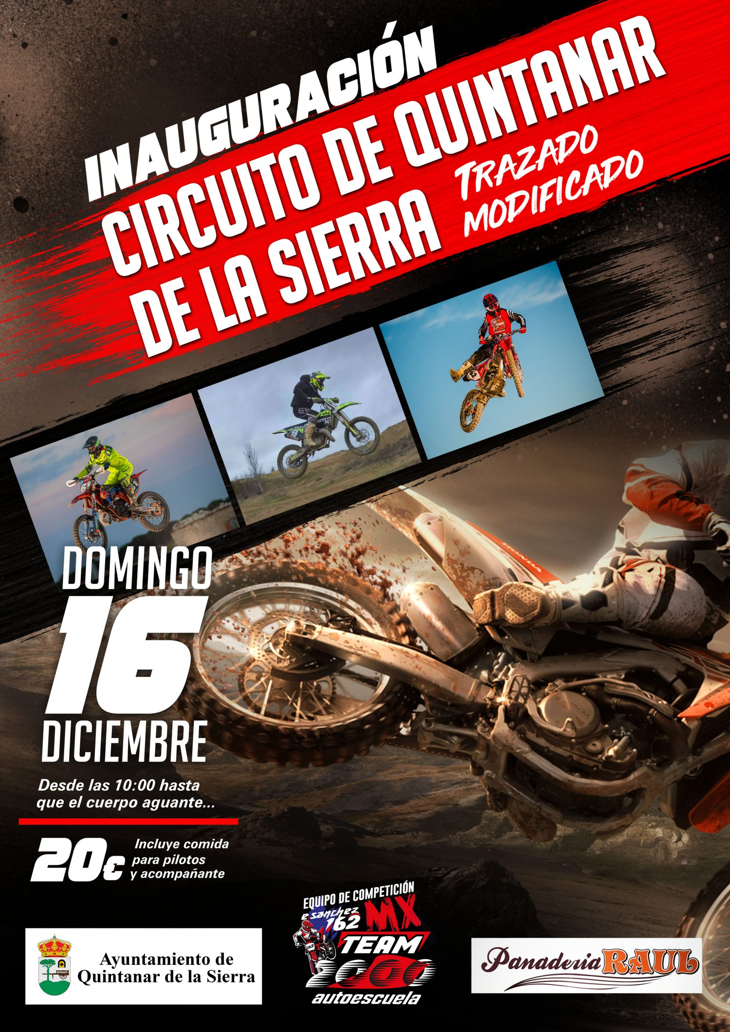motocross quintanar de la sierra