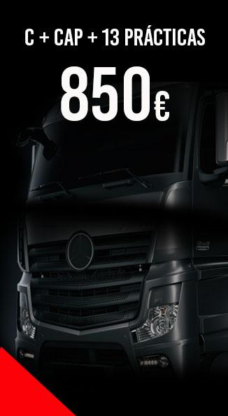Permiso C + CAP camion