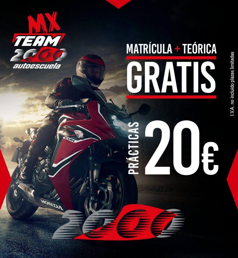 Oferta carnet moto online