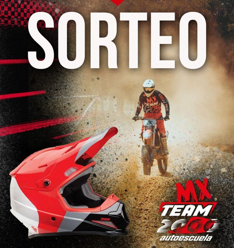 Sorteo casco MX
