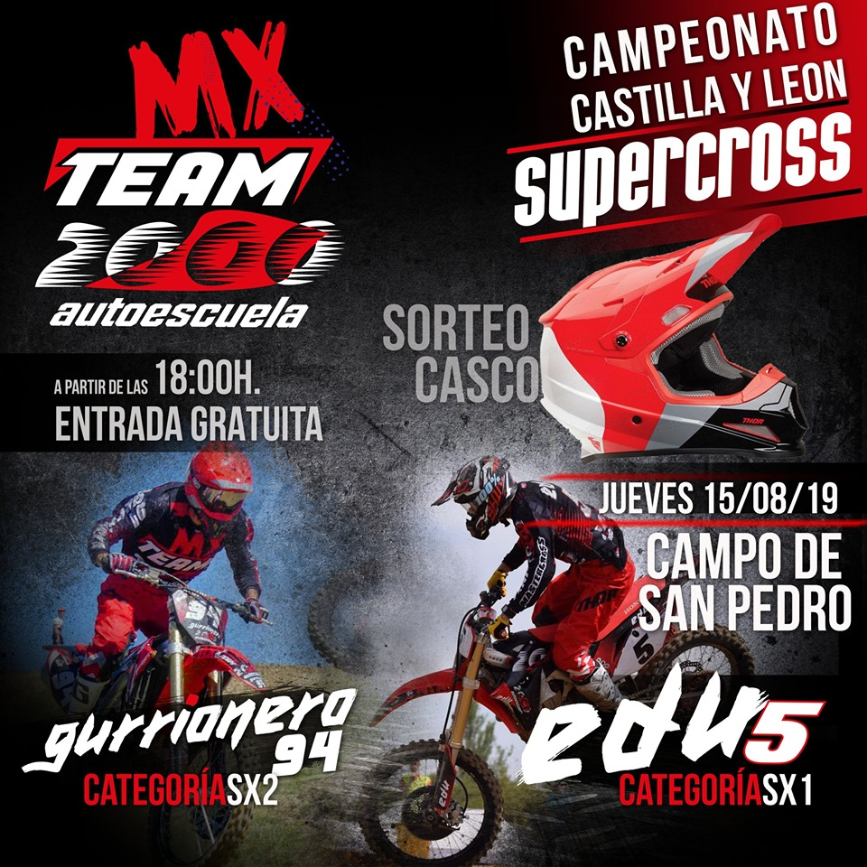 Supercross Campo de san pedro