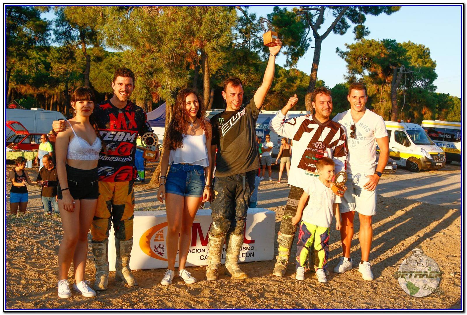 Campeones motocross olmedo