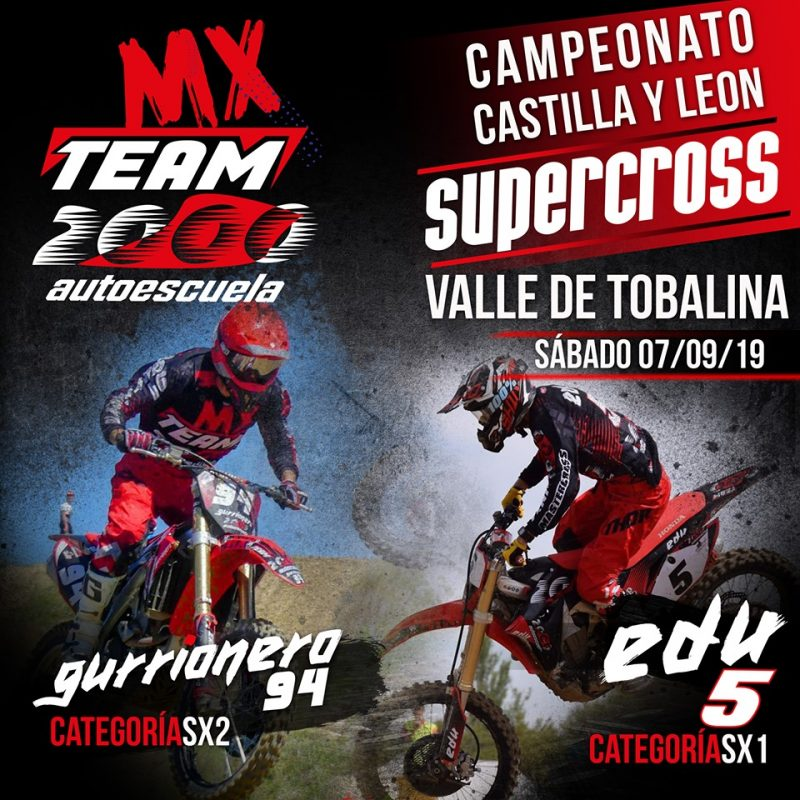 Supercross Quintana Martin Galindez